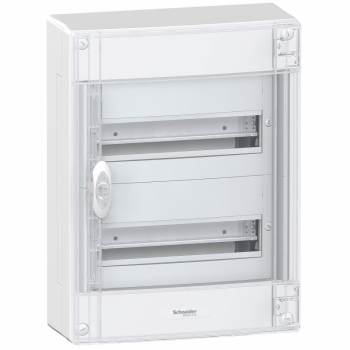 Pragma nadgradni orman - IP30 - 2 x 13 modula - providna vrata