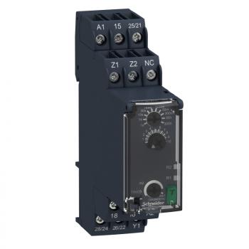 kašnjenje po uključenju - vremenski relej - 0.05s…300h - 24…240V AC/DC - 2C/O