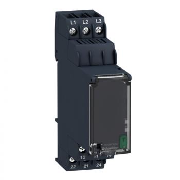 kontrolni relej - trofazni - 183…528 VAC, 2 C/O
