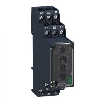 prenaponski kontrolni relej 15V…500V AC/DC, 2 C/O
