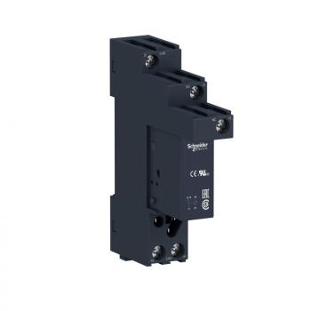interfejs utični relej - Zelio RSB - 1 C/O - 120 V AC - 12 A - sa utičnicom