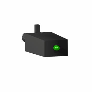 dioda + zelena LED - 110..230 VDC - za RSZ podnožja