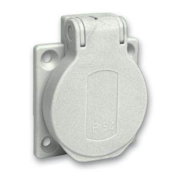 Priključnica monof. 16A 50mmx50mm Stepen zaštite IP54 (PANELNA)