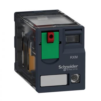 Minijaturni rele sa LED indikacijom 4CO 24V AC