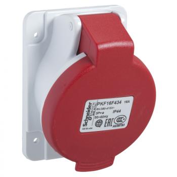 Industrijska priklj. 16A 3P+E Stepen zaštite IP44 (PANELNA)