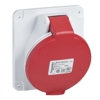 Industrijska priklj. 32A 3P+E Stepen zaštite IP44 (PANELNA)