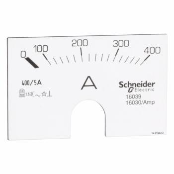 Skala ampermetra 0-400A