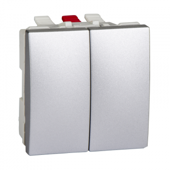 Prekidac serijski 2M 10A Aluminijum