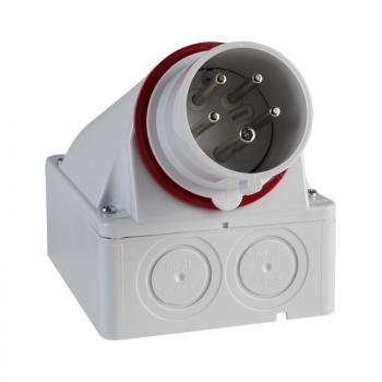 Industrijski utikač 32A 3P+E Stepen zaštite IP44 (zidni)