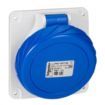 Industrijska priklj. 16A 3P+N+E Stepen zaštite IP67 (PANELNA)