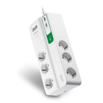 Prenaponska zaštita 6 izlaza + USB