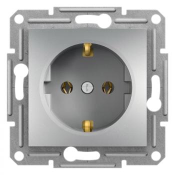 Priključnica dvopolna 16A Aluminijum