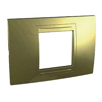 Dekorativna maska Allegro zlatna  2M