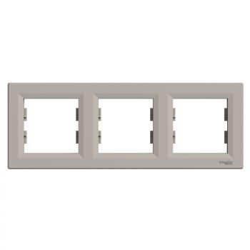 Ram za tri elementa horizontalni Bronza