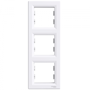 Ram za tri elementa vertikalni Beli