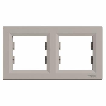 Ram za dva elementa horizontalni Bronza