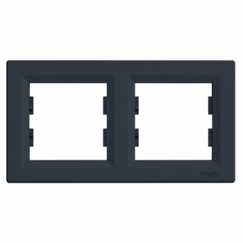 Ram za dva elementa horizontalni Antracit