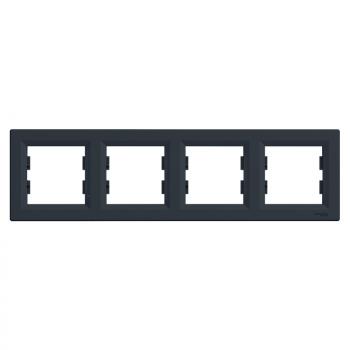 Ram za četiri elementa horizontalni Antracit