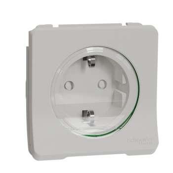 Mureva Styl Priključnica sa zaštitom u/z i n/z IP55 bela