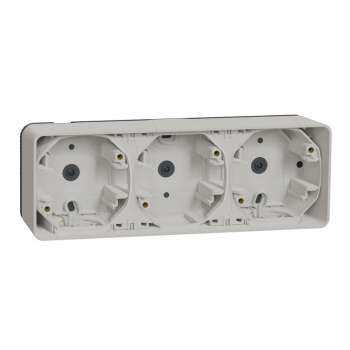 Mureva Styl Kutija 3 elementa horizontalna n/z IP55 bela