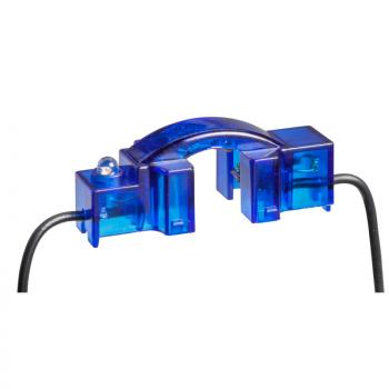 Neonska sijalica za prekidače plava
