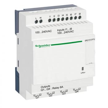 kompaktni progr. kontroler Zelio Logic - 12 I O - 100..240 V AC sat bez displeja