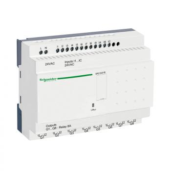 kompaktni progr. kontroler Zelio Logic - 20 I O - 24 V AC sat bez displeja