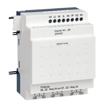 digitalni I/O modul za proširenje - 14 I O - 24 V AC - za Zelio Logic