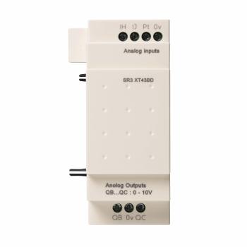 analogni I/O modul za proširenje - 4 I O - 24 V DC - za Zelio Logic