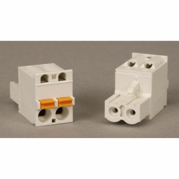 Modicon STB - 2-pinski odvojivi priključni blok za 24V DC napajanje - opružni