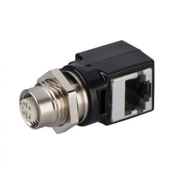 adapter M12 ženski/RJ45 - za Ethernet vezu