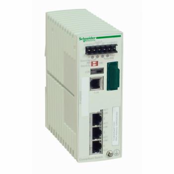Ethernet TCP/IP upravljivi switch - ConneXium - 3TX/1FX - monomodni