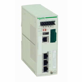 Ethernet TCP/IP upravljivi switch - ConneXium - 3TX/1FX - multimodni