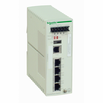 Ethernet TCP/IP upravljivi switch - ConneXium - 4 bakarna porta
