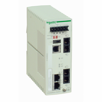 Ethernet TCP/IP upravljivi switch - ConneXium - 2TX/2FX - monomodni