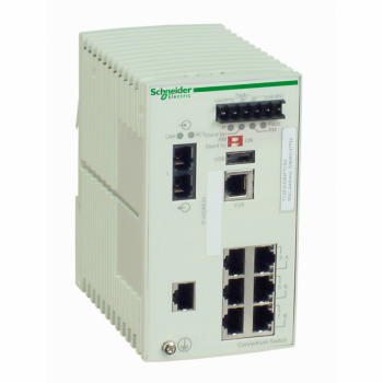 Ethernet TCP/IP upravljivi switch - ConneXium - 7TX/1FX - monomodni