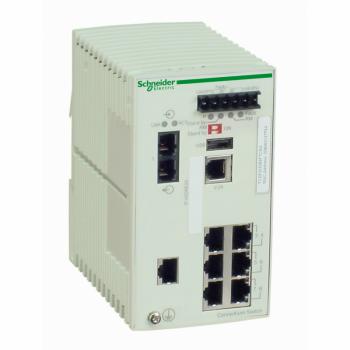 Ethernet TCP/IP upravljivi switch - ConneXium - 7TX/1FX - multimodni
