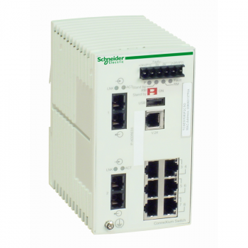 Ethernet TCP/IP upravljivi switch - ConneXium - 6TX/2FX - monomodni
