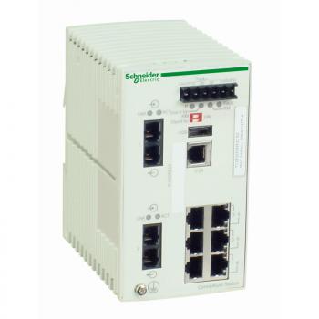 Ethernet TCP/IP upravljivi switch - ConneXium - 6TX/2FX - monomodni