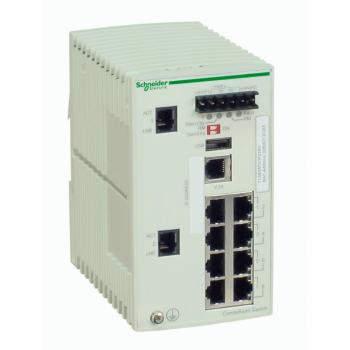 Ethernet TCP/IP upravljivi switch - ConneXium - 8 portova za bakarni + 2 za Gbit