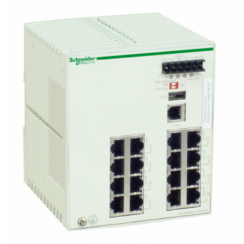 Ethernet TCP/IP upravljivi switch - ConneXium - 16 bakarnih portova
