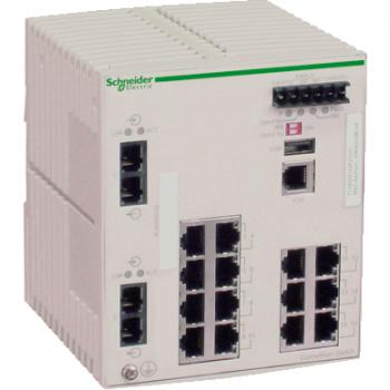 Ethernet TCP/IP upravljivi switch - ConneXium - 14TX/2FX - multimodni