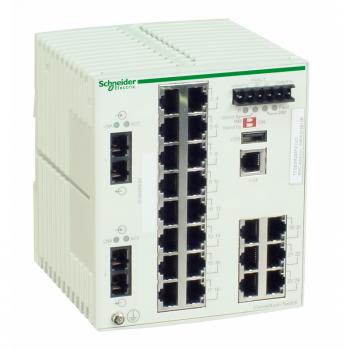 Ethernet TCP/IP upravljivi switch - ConneXium -22TX/2FX - multimodni