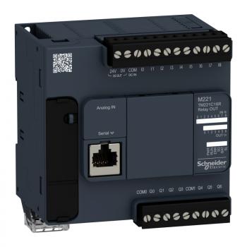 kontroler M221 16 IO relejni