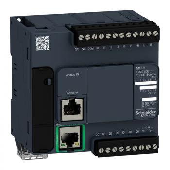 kontroler M221 16 IO tranzistorski PNP Ethernet