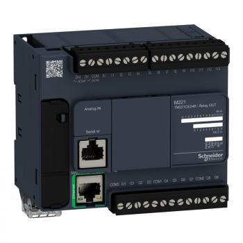 kontroler M221 24 IO relejni Ethernet