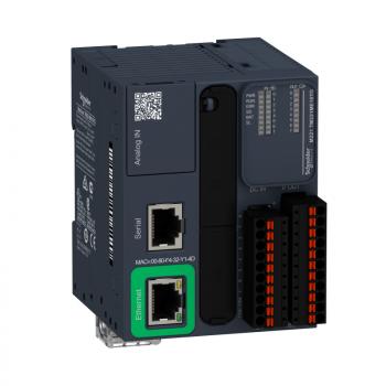 kontroler M221 16 IO tranzistorski PNP Ethernet opružni priključci