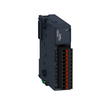 modul TM3 - 2 temperaturna ulaza i 1 analogni izlaz opružni priključci