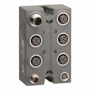 blok za proširenje - TM7 - IP67 - 4 AI - +/-10V - M12 konektor