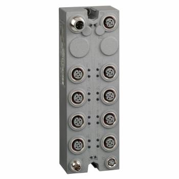 blok za proširenje - TM7 - IP67 - 16 DI - 24V DC - M12 konektor